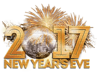 Kaz_Creations Text Logo 2017  New Year's Eve