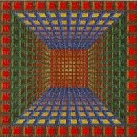 hypnotic colors art