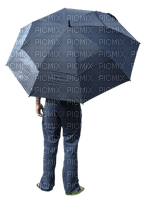 Kaz_Creations Man Homme With Umbrella