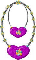 Kaz_Creations Deco Hearts Love Hanging Dangly Things Colours
