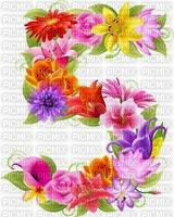 image encre numéro 5 fleurs bon anniversaire edited by me