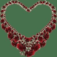 cœur rouge.