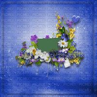 loly33 cadre frame fond flower