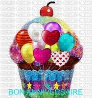 image encre gâteau pâtisserie bon anniversaire ballons edited by me