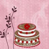 image encre gâteau pâtisserie chocolat bon anniversaire edited by me