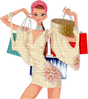 Kaz_Creations Woman Femme Shopping