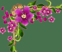 coin fleur