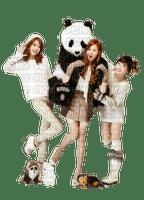 Kaz_Creations Woman Femme Friends Panda