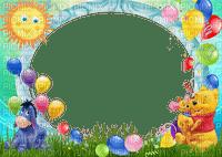 multicolore image encre bon anniversaire color effet vert bleu violet ballons Disney nature soleil  edited by me