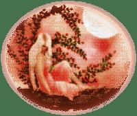 femme en rose.