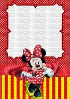 image encre couleur rayures anniversaire effet à pois Minnie Disney  edited by me