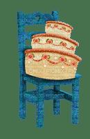 image encre gâteau pâtisserie bon anniversaire mariage chaise edited by me