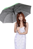Kaz_Creations Woman Femme Girl With Umbrella