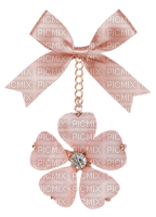 Kaz_Creations  Pink Deco Scrap Colours Ribbons Bows  Flower Hanging Dangly Things