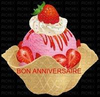 image encre couleur la crème glacée été bon anniversaire fraises edited by me