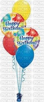 multicolore image ink color happy birthday balloons corner edited by me