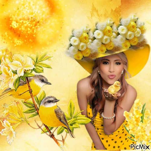 le printemps en jaune