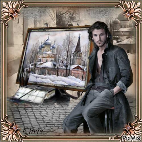 L'artiste Léonard