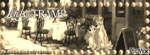 {Vintage Lady & the Tramp}