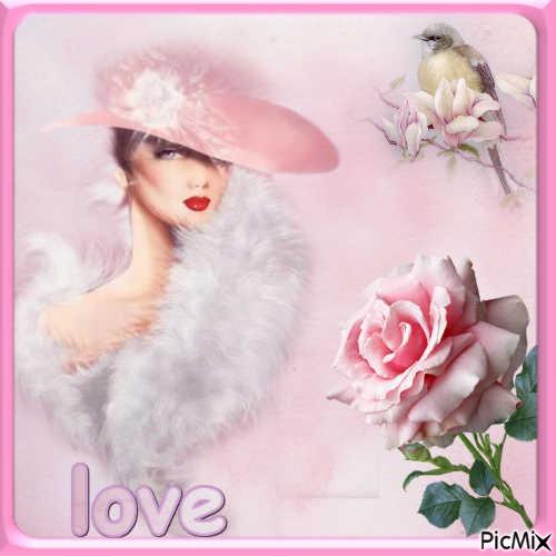 woman love