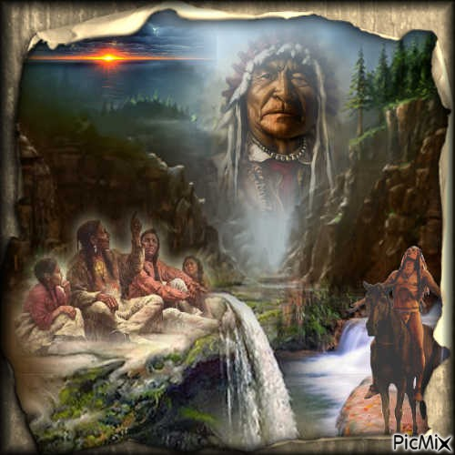 Indians and their Shaman...