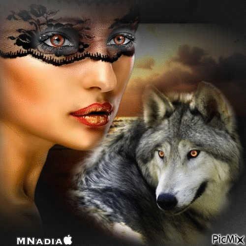 deux louves ,,
