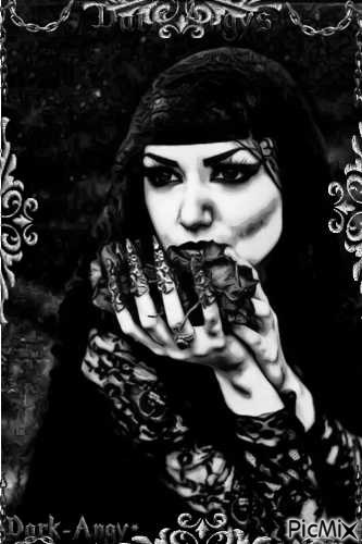 beauty 'gothy woman