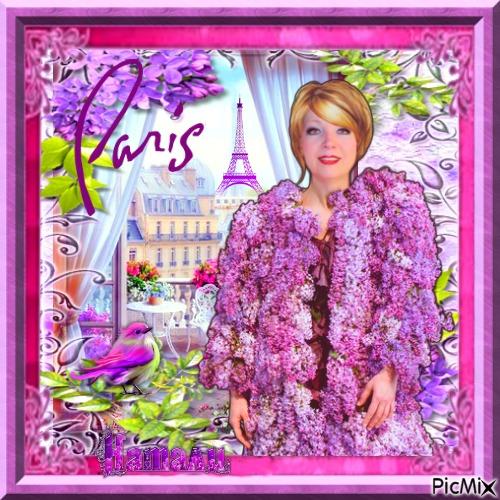 Paris et les lilas 1 место
