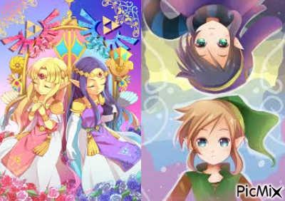 hilda et zelda lavio et link - Link Et Zelda