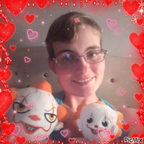 Me with my Penny Plushies