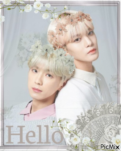 Jinyoung and Yonghee greeting card #1