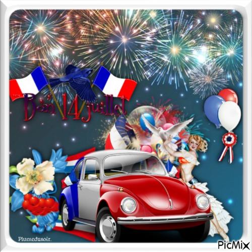 Bonne fête aux français(e)s.