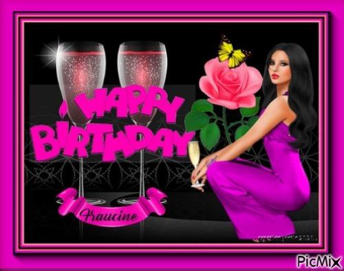 kdo d'anniversaire de mon amie Joëlle ♥♥♥