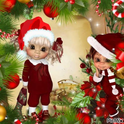 Poupée Santa