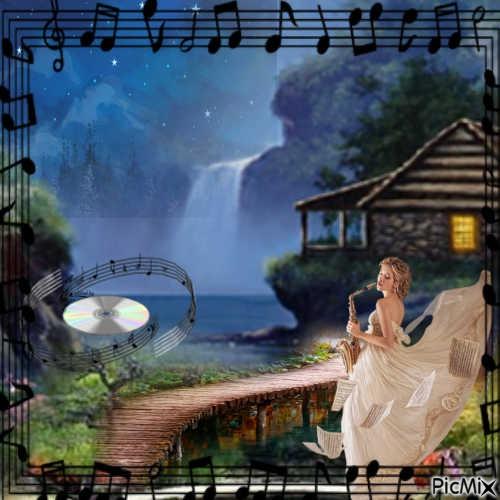 Musique au calme la nuit
