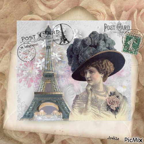 Carte postale vintage !