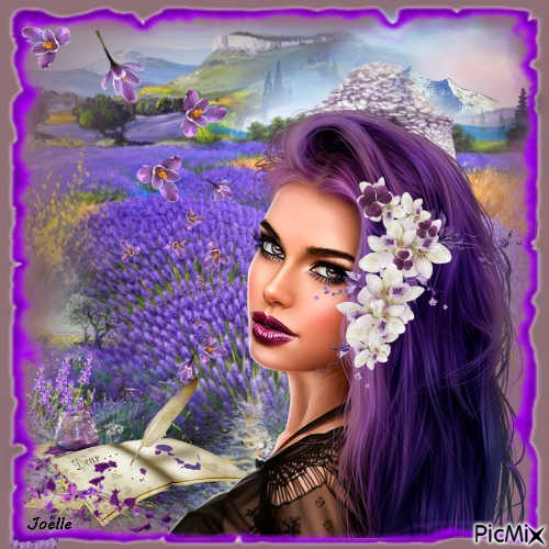 Lavande ..... lavender ....