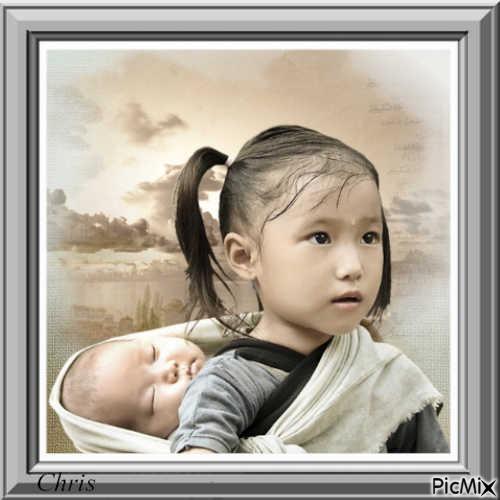 Je serai toujours la pour toi ma petite soeur
