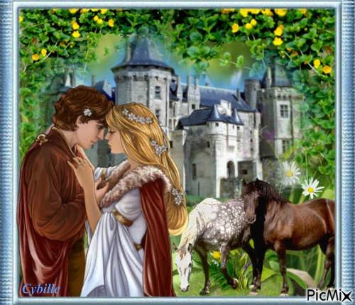 Amour secret. A cette époque, Une Princesse n'avait pas le droit d'aimer un homme n'étant pas de son rang.