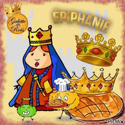 Epiphanie .. vive le roi - vive la reine