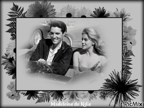 Elvis et jolie femme