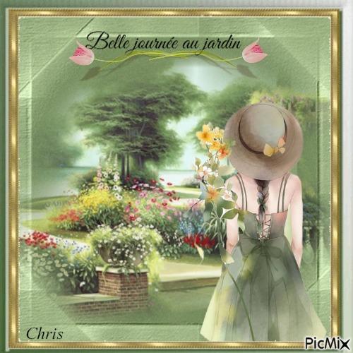 Belle journée au jardin