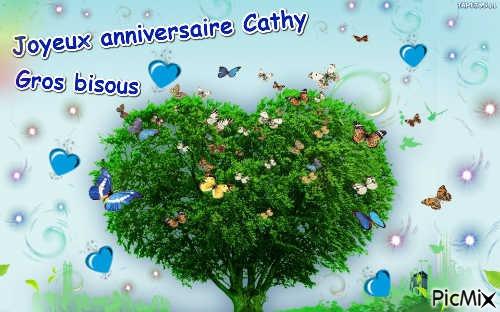 Joyeux Anniversaire Cathy Gros Bisous Picmix