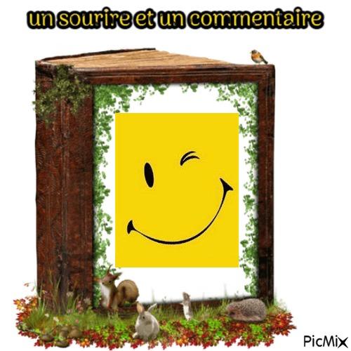 un sourire un commentaire