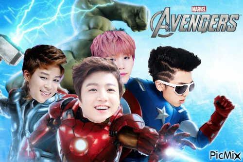 BTS Avengers