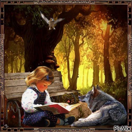 L'enfant et le loup - Contest