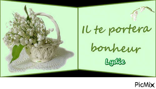 Muguet Porte Bonheur Picmix