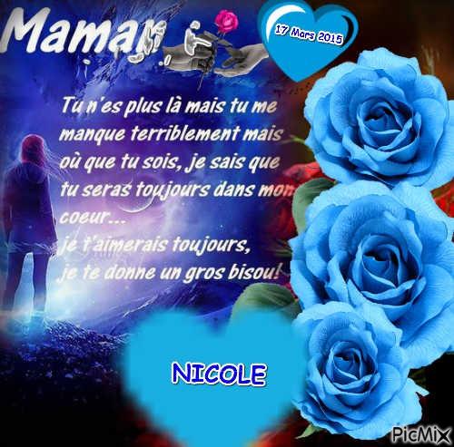 anniversaire de deces de ma maman