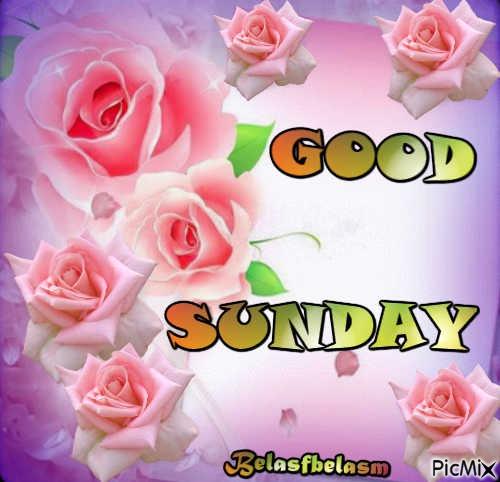 Bom domingo