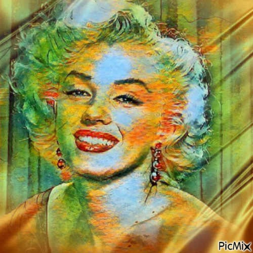 Maryline pop Art